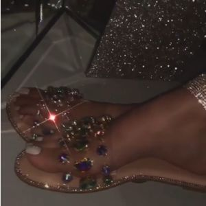 Just In!💎🖤Nude Embellished Lux Rhinestone Sandal